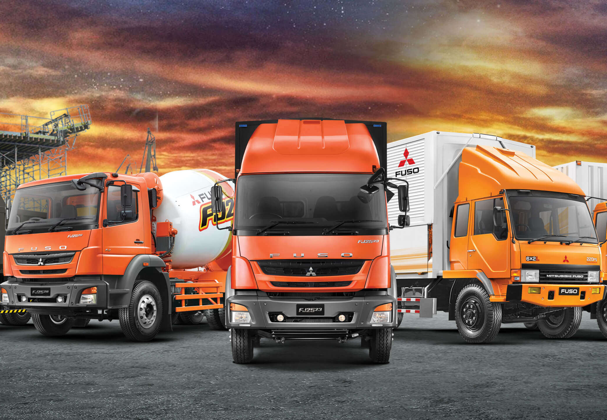 Mitsubishi Fuso Series Truk And Bus